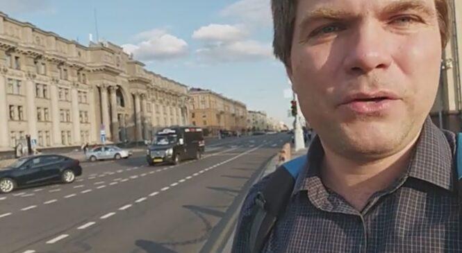 Артем Важенков из Твери задержан и избит на выборах в Беларуси