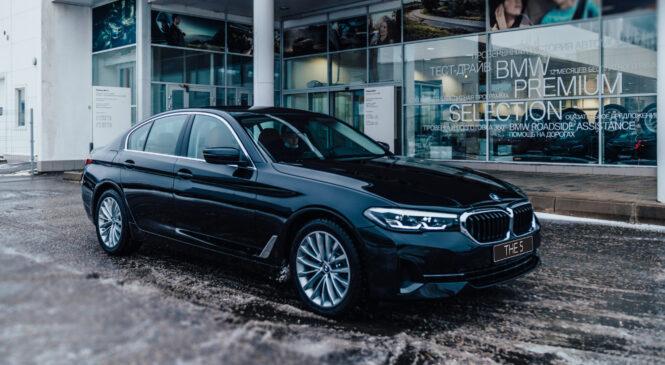 Новый BMW 5 серии: тест-драйв в «Гранд Авто»